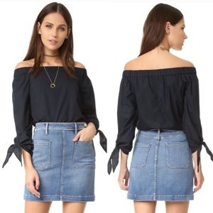 NWT Free People Show Me Some Shoulder Top